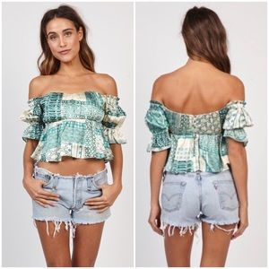 STONE COLD FOX SILK MONTE TOP REFORMATION